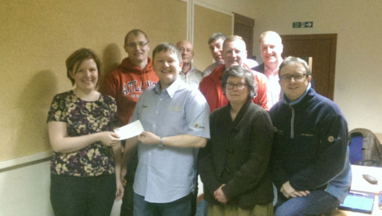 Donation to Angus Playscheme