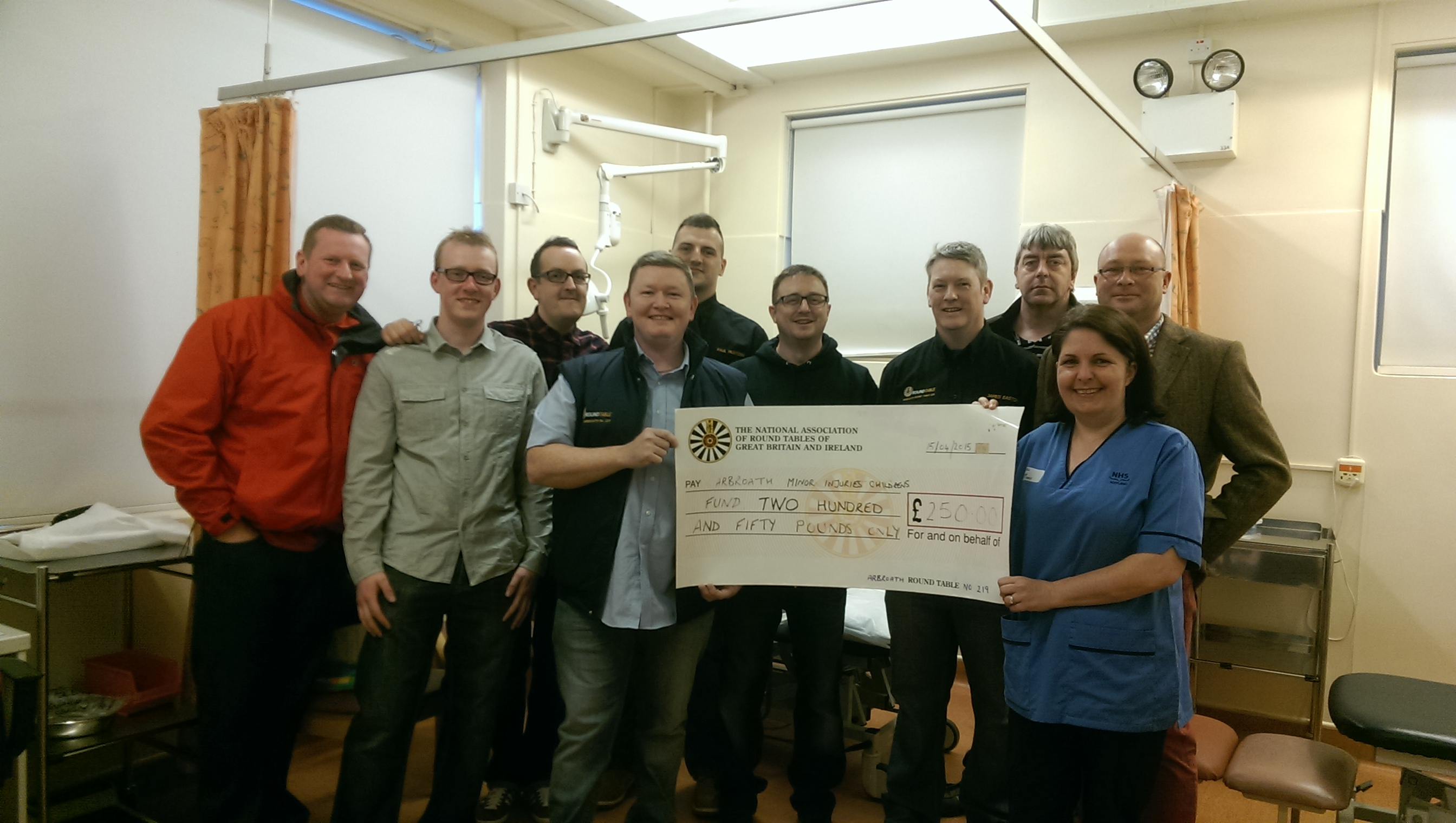 Arbroath Infirmary Donation